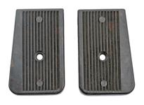Trigger Group Assembly Panels, Pair, Black Plastic, Unissued