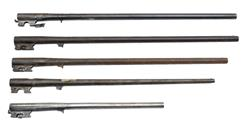 Barrels, Single Barrel Shotgun, Bundle of Five, Random Selection, Sold As Is.