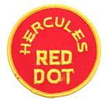 Garment Patch, Hercules Red Dot Garment, 3