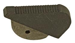 Front Sight Ramp, Black (.435 Serrated)