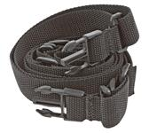 Sling, Tactical, Black Nylon, 1-1/4