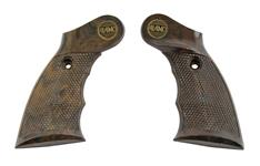 Grips, Brown Plastic (Marked Alamo)