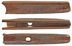Forend, Rifle Over Rifle, Small Caliber, Walnut, Checkered, Gloss Finish