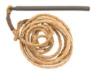 Pull-Through Rope & Weight, Original, Excellent to Like New Condition