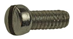 Machine Screw, 4-40 Thread, .395 OAL, Fillister Head, Nickel