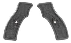 Grips, Black Checkered Plastic, Unissued, New