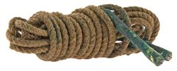 "Pull-Through Rope w/ Weighted Ends, 96"" Long, Original, Used G to VG"