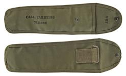 Carrying Case, M82 Sniper Scope, OD Canvas w/ Markings, Reproduction