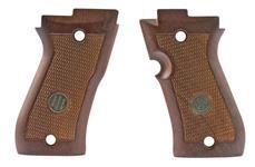 Grips, Checkered Walnut, New Factory Original