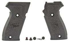 Grips, Black Polymer w/ Screws & Washers, New Factory Original