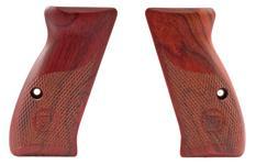 Grips, Compact, Coco Bolo, Half Checkered Factory Original, New
