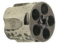 Cylinder, .38 Rimfire, 5 Shot, Large Frame, Nickel
