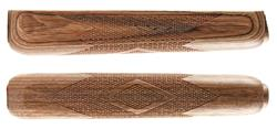 """Forend, Brown Laminated, Checkered, OAL 10"""""""
