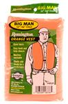 Outdoor Safety Vest, Remington, Adult Size, 52