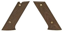 Grips, Checkered Walnut w/ Takedown Lever Cut, New Reproduction