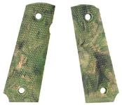 Grips, Rubber, Camouflage, New Reproduction