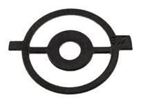 Front Sight Aperture Insert, 3.7, Globe