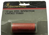 Choke Tube, 12 Ga. Standard Invector, Cylinder Bore