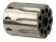 Cylinder, .22 LR, Nickel (w/ Extractor)