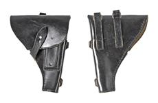 Holster, Black Leather, Original, Used, Good to Very Good