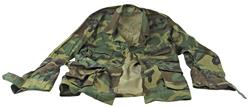 BDU Camo Jacket, Size Small-X-Long