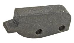 Front Sight Blade, Patridge, Undercut, 2-Pin Style