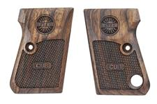 Astra Cub pistol grips made from French Walnut, Cub logo.