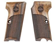 Astra 300 pistol grips made from French Walnut, Astra logo.