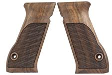 Jericho 941 pistol grips made from French Walnut.