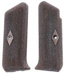 Colt Woodsman Pre-War pistol grips made from Black Walnut, Includes screw.