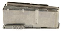 Magazine Assembly, 4 Round, Long Action, Non-Magnum w/Stainless Floorplate