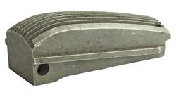 Mainspring Housing, Arched, Serrated, Lightweight, Aluminum Alloy, Stainless