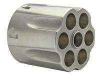 Cylinder Assembly, .44 Mag., Stainless w/New Style Extractor