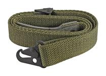 Sling, Green Canvas w/ Hook, Used - Very Good Condition