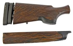 Stock & Forend Set, 12 gauge, Made of checkered walnut and features Beretta's Kick-Off™ hydraulic dampening reduction system. Forend includes forend cap.