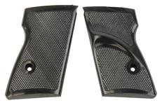 Grips, Black Plastic w/Thumbrest, w/o Escutcheons, Fit R61/PMK/RK59/PPH/SMC-380
