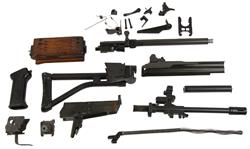 AR Parts Kit with Wood Handguard, Hand Select, w/o Magazine