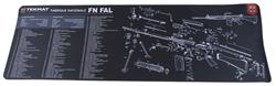 "TekMat Rifle Mat, 12"" x 36"", For FN FAL"