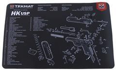 """TekMat Handgun Mat, 11"""" x 17"""", For H&K USP"""
