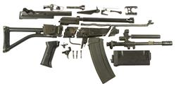 AR Parts Kit with Plastic Handguard & 35 Round Magazine, Used