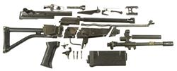 AR Parts Kit with Plastic Handguard, w/o Magazine, Used