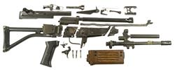 AR Parts Kit with Wood Handguard, w/o Magazine, Used