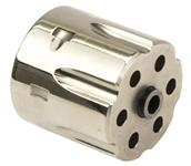 Cylinder, .22 Mag, 6 Shot, Nickel w/ Bushing, Used Factory Original
