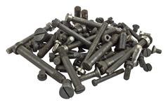 Machine Screw Pack, 5 Ounces (Random Assortment; Sizes and Types Vary)