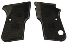 Grips, Black Plastic, Used Factory - Condition May Vary (w/ Safety Cut)