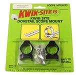 "Dovetail Scope Mount, For 1"", Fits 32mm & 40mm Lens, Kwik Site, Blued"