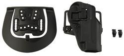 Holster, Serpa Concealment, RH, Matte Finish w/Paddle & Belt Loop, New Blackhawk