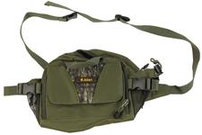 Fanny/Ammo Pack, 2 Pocket, Green Canvas, New Allen