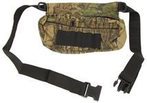 "Fanny Pack, 2 Zippered Pockets, 1 1/2"" Wide Belt, Realtree Camo, New"