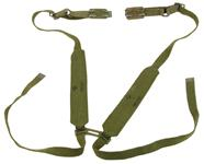 "Belt/Suspenders, 50"", Canvas w/Danish Belt Extenders & Buckles, Colors May Vary"